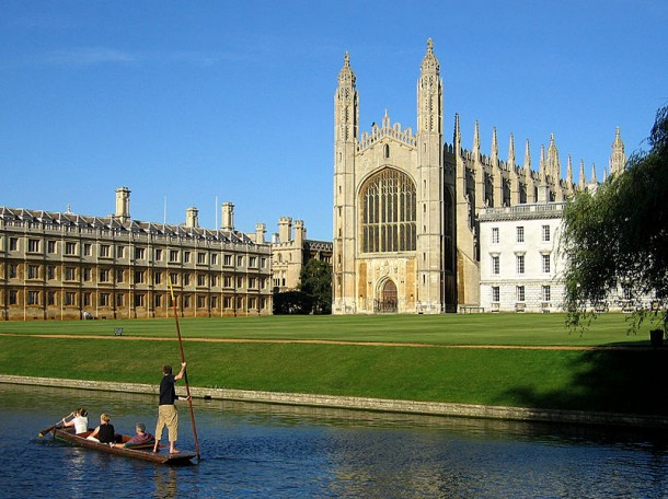 5. University of Cambridge