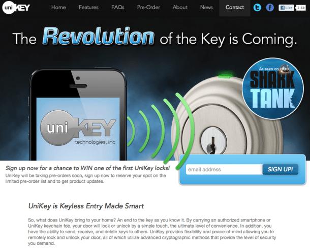 UniKey Site