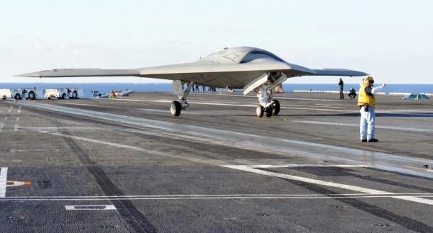 X-47B Take-off 2