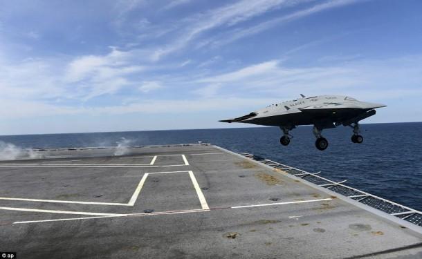 X-47B Take-off