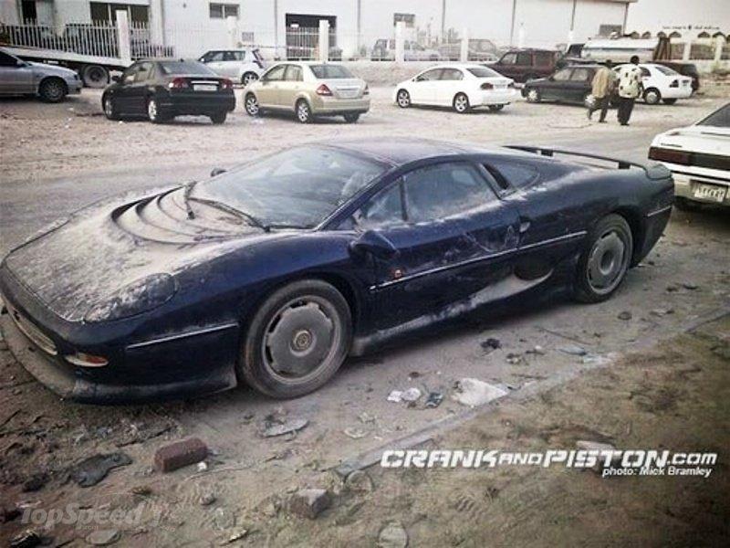 Dubai And Abandoned Cars