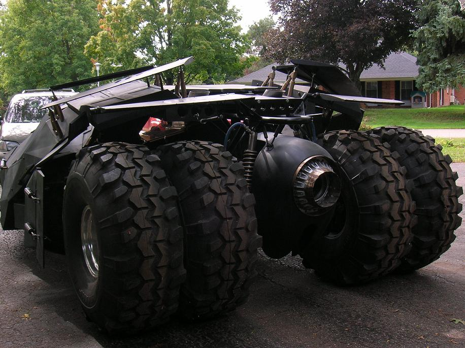 Batman Tumbler Replica