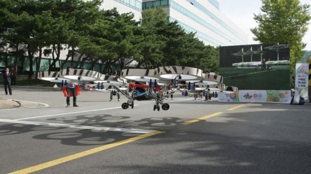 Hyundai's Annual Idea Festival Flying car 2