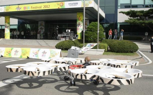 Hyundai's Annual Idea Festival Flying car