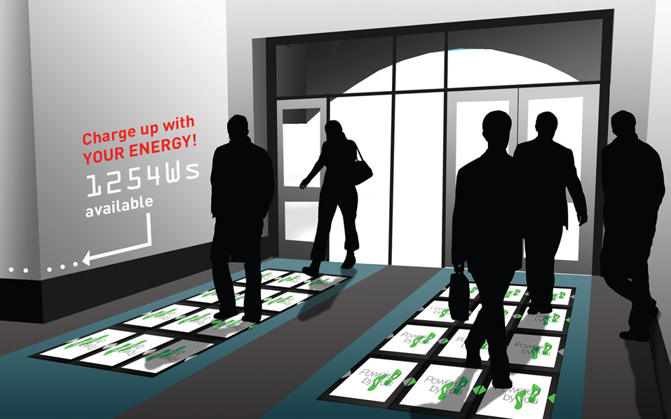 Now You Can Generate Electricity While You Walk On This Floor