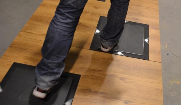 Power Walking energy floor