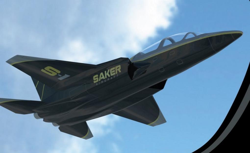 Saker-S-1-Military-personal-jet-4