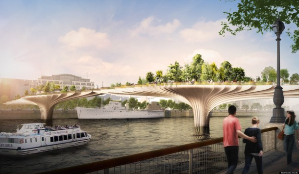 2. the Garden Bridge