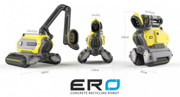 ERO Concrete Deconstruction Robot 5