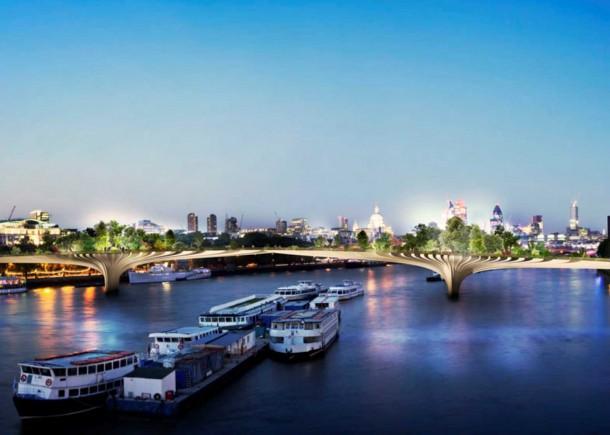 Garden Bridge for London by Thomas Heatherwick3