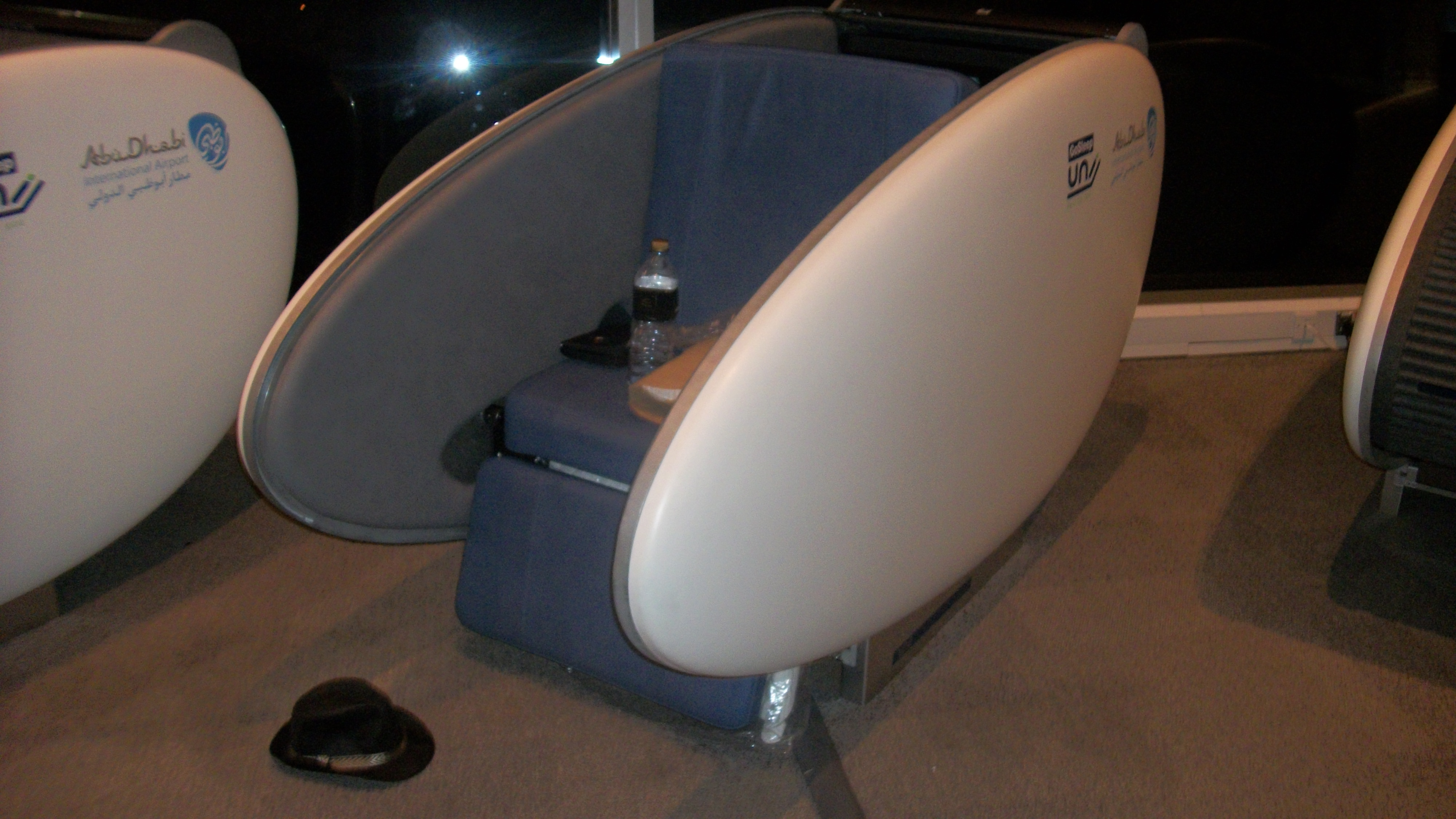 abu dhabi airport installs gosleep sleeping pods