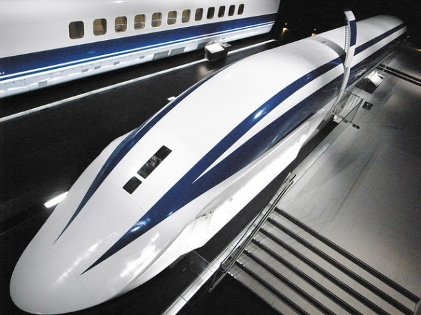 Japan's MagLev Train is Fast, Very Fast-1