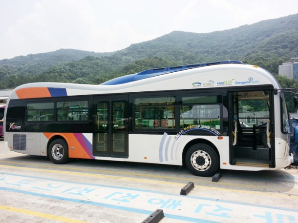 OLEV Bus – Innovative Electric Vehicle for Public Transportation -2