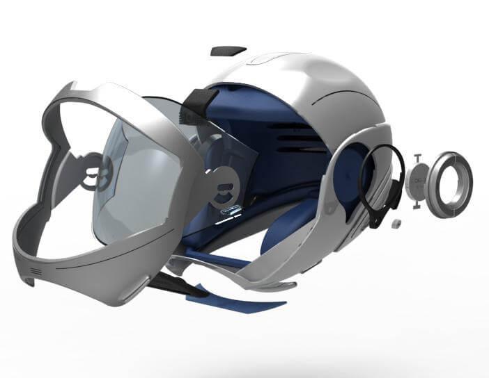 forcite helmet unsw