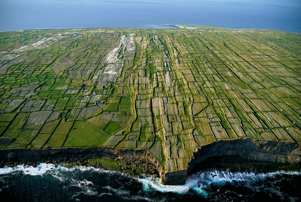 12. Cliffs of Inishmore, Aran Islands, County Galway, Ireland