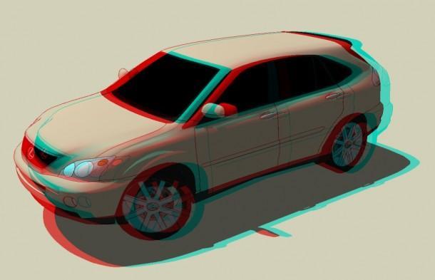 3D-CAR-LEXUS
