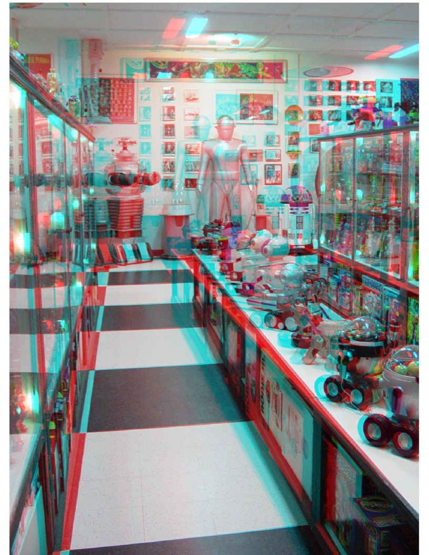 3D robot image