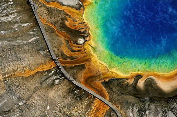 5. Grand Prismatic Spring, Yellowstone National Park, US