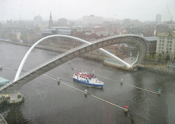 Engineering at Its Best - The Gateshead Millennium Bridge