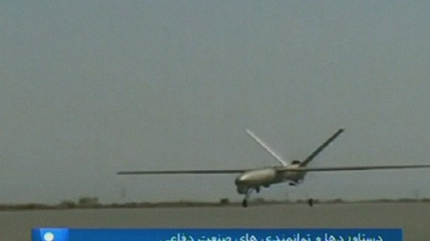 Iran has finally Come up with a Drone 2