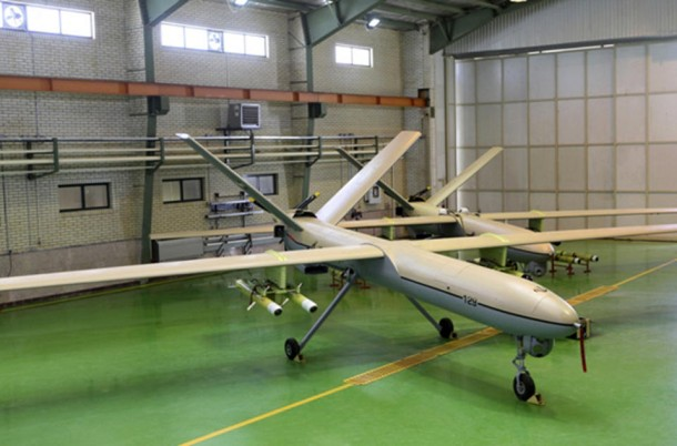 Iran has finally Come up with a Drone 3