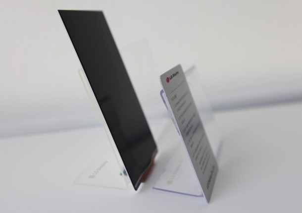 LG Defines The Future of Smartphones – Thinnest LCD 2