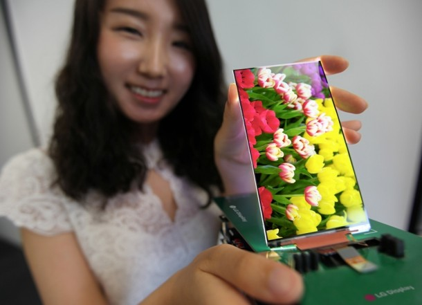 LG Defines The Future of Smartphones – Thinnest LCD