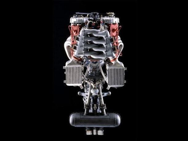 Muscle car engine 112