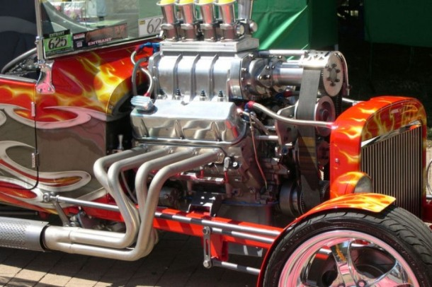 Muscle car engine 2