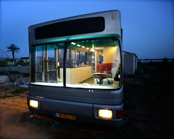 One would never have imagined a useless transport bus changed into a luxury home-2