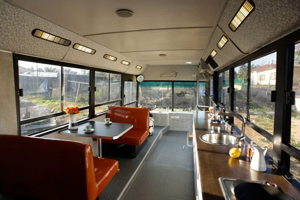 One would never have imagined a useless transport bus changed into a luxury home-3