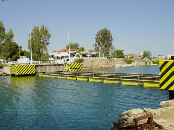 Submersible Bridges at Corinth Canal, Greece-2