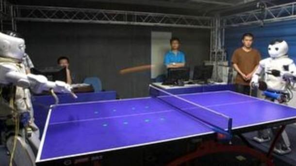 Table Tennis and Robotics