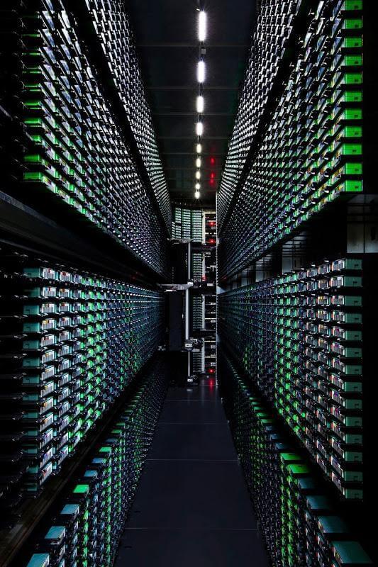 Take a Look – Google Data Centre 9
