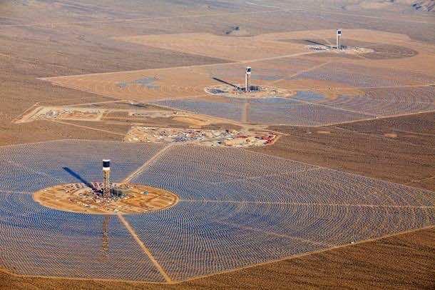 The Ivanpah Solar Facility-1