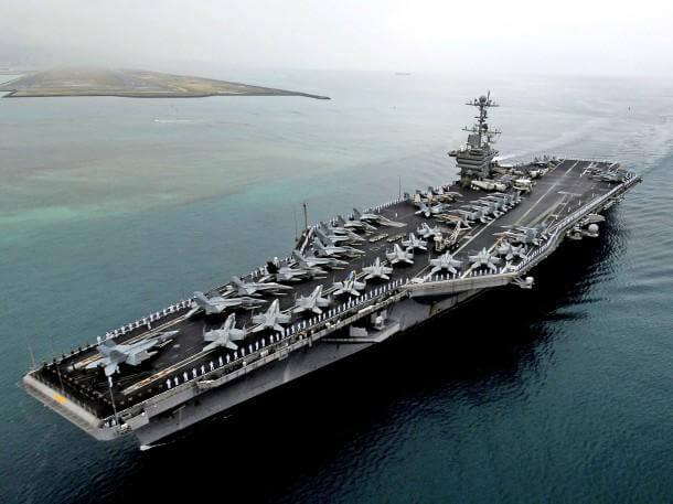 US navy in iran
