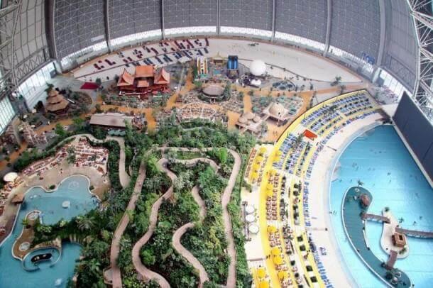 Welcome To Wonders of Man – Tropical Island Resort