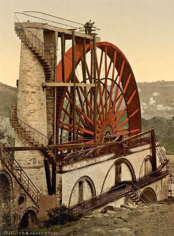 Wonders of Engineering – The Laxey wheel 7