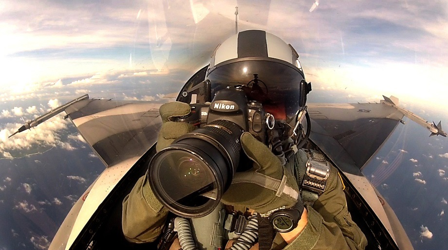 Pictures From Camera Of An Air Force Fighter Pilot