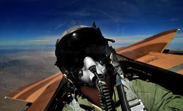 airforce pilot cockpit