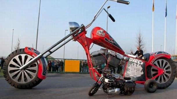 The Regio Design XXL Chopper in all its glory!