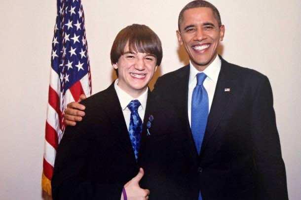 jack+andraka+and+Obama