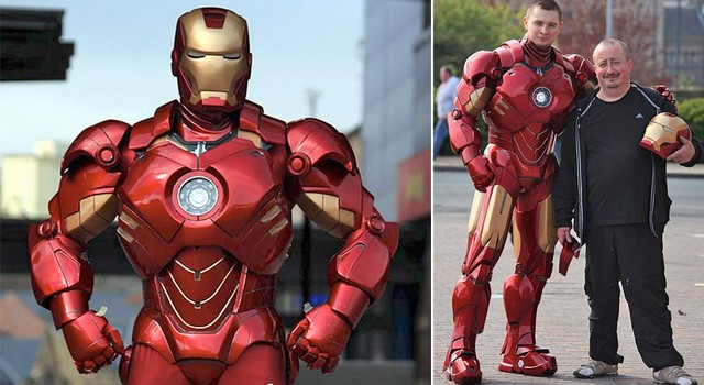 US Iron man suit