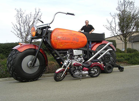 And here is the Dunham Monster Motorcycle!
