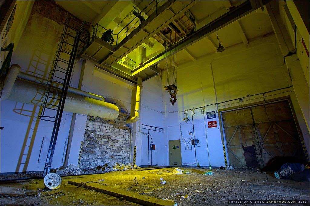 Abandoned Nuclear Warhead Warehouse in Ukraine