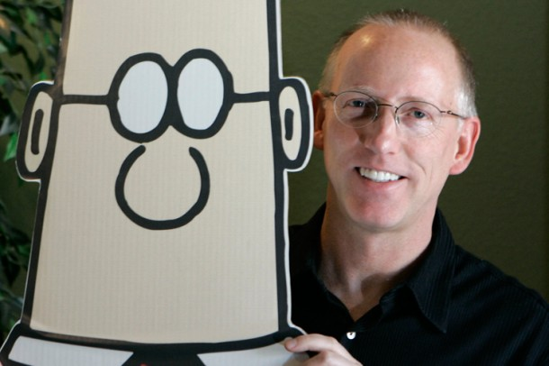 1. Scott Adams, creator of Dilbert