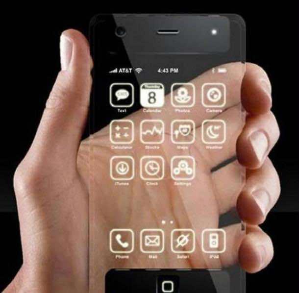 1. Transparent Phones