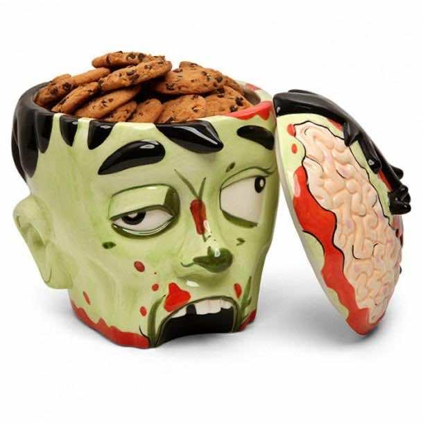 1. Zombie Head Cookie Jar