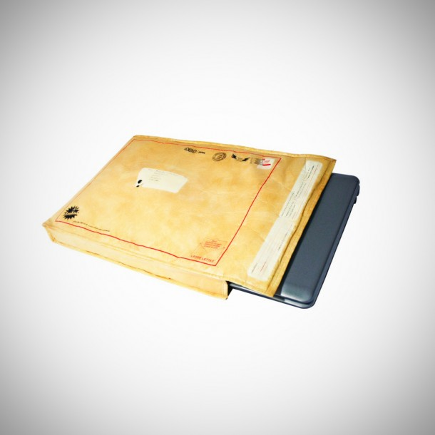 10. Postal Envelope Notebook Sleeve