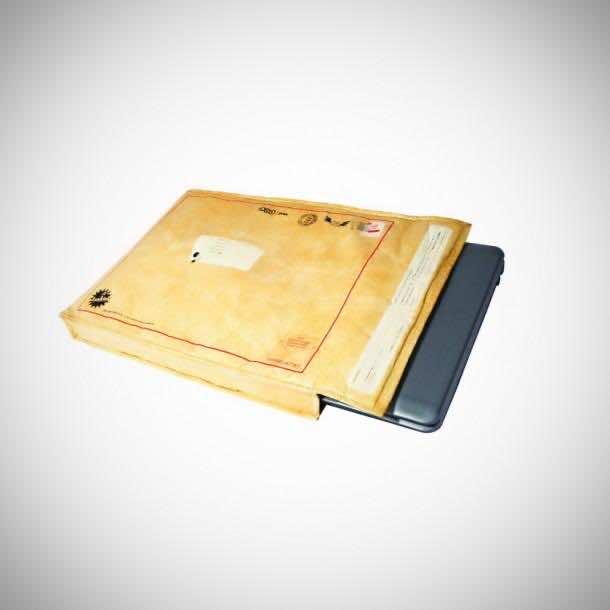 10. Postal Envelope Notebook Sleeve